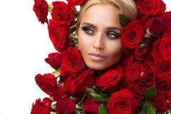 Vrouwelijkheid, luxe en schoonheid Royalty-vrije Stock Foto
