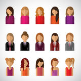 Vrouwen Royalty-vrije Stock Foto's
