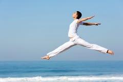 Vrouwen dansend strand Royalty-vrije Stock Fotografie