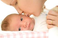 Vrouwen en baby Royalty-vrije Stock Afbeelding