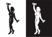 Vrouwen Ftiness Stock Afbeeldingen