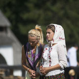 Vrouwen het bidden Stock Foto