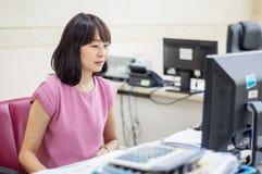 Vrouwen het werken royalty-vrije stock foto's