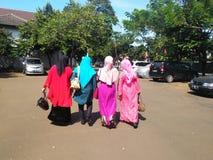 Vrouwen in Hijab Royalty-vrije Stock Foto's