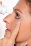 Vrouwen met allergieën Royalty-vrije Stock Foto's
