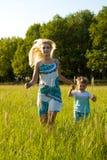 Vrouwen met kind Stock Afbeeldingen