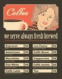 Vrouwen met koffie Royalty-vrije Stock Afbeeldingen