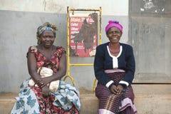 Vrouwen in Oeganda royalty-vrije stock fotografie