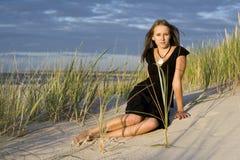 Vrouwen op het strand Stock Fotografie