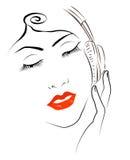 Vrouwen op muziek Stock Foto
