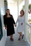 Vrouwen op vakantie royalty-vrije stock foto's