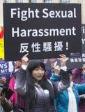 Vrouwen ` s Maart op Washington Royalty-vrije Stock Fotografie