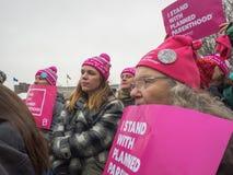 Vrouwen ` s Maart, Saint Paul, Minnesota, de V.S. Stock Afbeeldingen