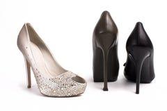 vrouwen schoenen royalty-vrije stock fotografie