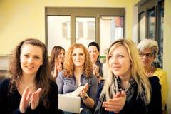 Vrouwen slechts Seminarie royalty-vrije stock afbeeldingen