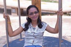 Vrouwen Thailand in vakantie. Royalty-vrije Stock Afbeeldingen