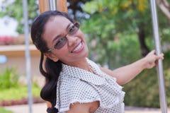 Vrouwen Thailand in vakantie. Stock Foto's