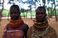 Vrouwen Turkana (Kenia) Stock Foto