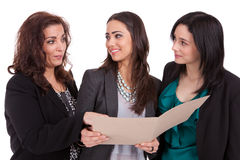 Vrouwen in zaken Royalty-vrije Stock Afbeeldingen
