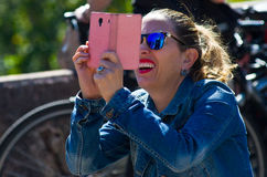 Vrouwenfoto's Stock Foto