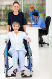 Vrouwenmoeder arts Stock Fotografie
