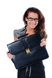Vrouwenonderneemster Royalty-vrije Stock Foto's