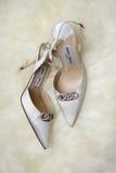 Vrouwenontwerper Shoe door Jimmy Choo stock afbeeldingen