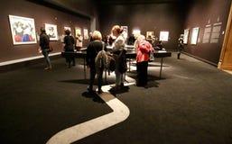 Vrouwenportretten en beeldhouwwerken Royalty-vrije Stock Foto's