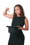 Vrouwentovenaar Stock Afbeelding