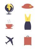 Vrouwenvoorwerpen stock illustratie