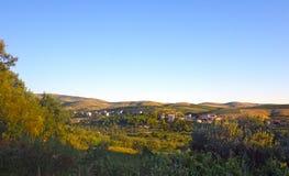 Vrpolje Kroatisch platteland Stock Foto