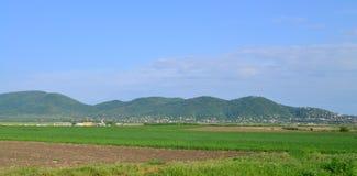 Vrsac Serbien berg Royaltyfri Fotografi