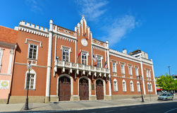 Vrsac town cty hall Stock Image