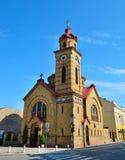 Vrsac town romanian church Stock Image
