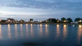 Vrsacko jezeroVrsac sjö royaltyfri bild