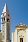 Vrsar cathedral. Santa Maria cathedral at Vrsar city, Croatia Stock Image