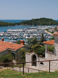 Vrsar harbor Royalty Free Stock Image