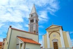 Vrsar, Istria, Kroatien stockbilder
