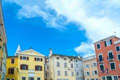 Vrsar, Istria, Kroatien stockfotografie
