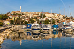 Vrsar Port And Village-Istria,Croatia stock image