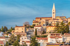 Vrsar Village With Church Tower-Istria,Croatia Royalty Free Stock Photo