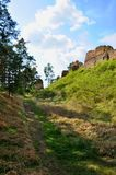 Vrskamyk old castle ruins Royalty Free Stock Images