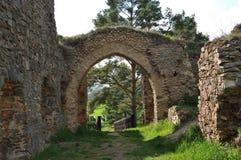 Vrskamyk old castle ruins Royalty Free Stock Photos