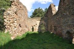 Vrskamyk old castle ruins Stock Photo