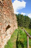 Vrskamyk old castle ruins Royalty Free Stock Photos