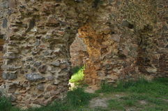 Vrskamyk old castle ruins Royalty Free Stock Photo