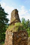 Vrskamyk old castle ruins Royalty Free Stock Image