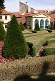 vrtba της Πράγας κεντρικών κήπων Στοκ εικόνα με δικαίωμα ελεύθερης χρήσης
