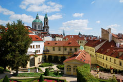 The Vrtba Garden of Prague Stock Image