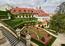 Vrtba Garden, Prague, Czech Republic.  Royalty Free Stock Photos